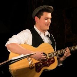 Woodwind and Steel - Irish Folk Band - Alex Guitar Solo Hat
