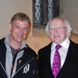 Woodwind and Steel - Irish Folk Band - Ed and President of Ireland