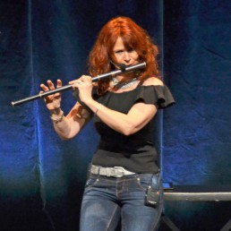 Woodwind and Steel - Irish Folk Band - Flute black blue