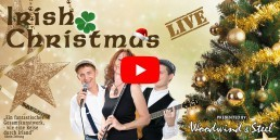 Irish Folk Band - Irish Christmas Video Banner